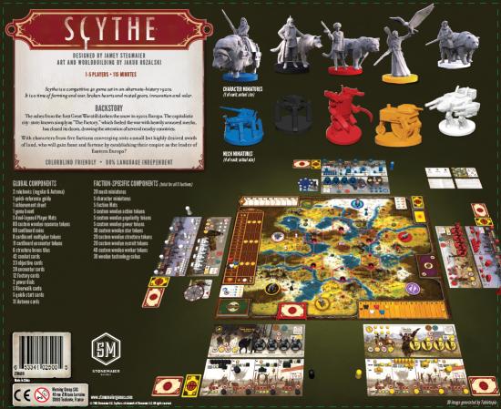 Derrière de boîte Scythe