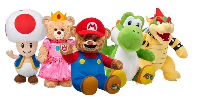 Nintendo et Build-A-Bear
