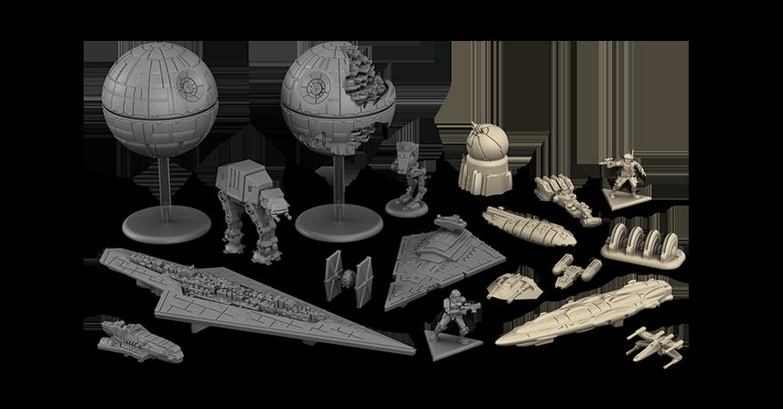 miniatures star wars