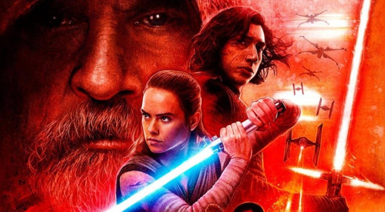Rey et Kylo ont tous deux le même but dans le film : retrouver le légendaire Luke Skywalker