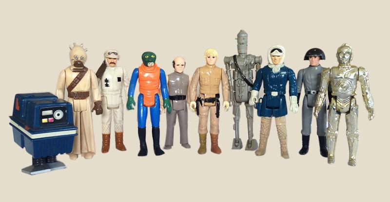 Si vous avez encore en votre possession des figurines originales de Star Wars, vous êtes possiblement beaucoup plus riches que vous ne le croyez!