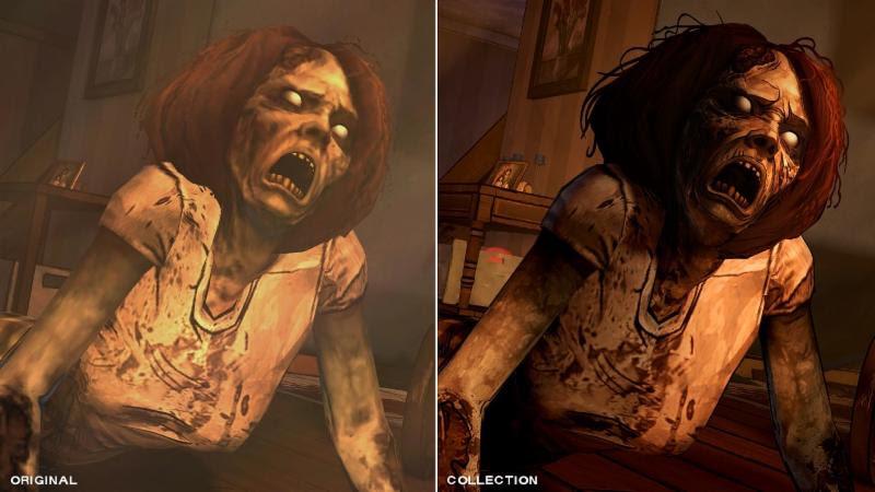 Même si vous avez joué à la version originale, The Walking Dead : The Telltale Series Collection saura vous séduire par ses graphiques améliorés
