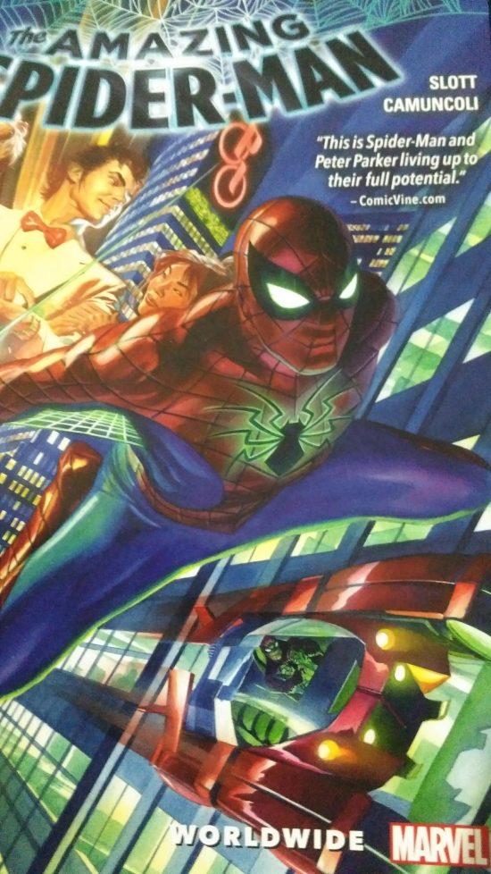 Amazing Spider-Man couverture