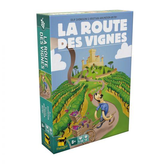 Boite La Route des Vignes