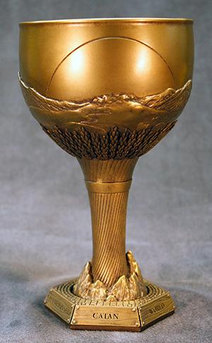 Trophée du tournoi mondial de Catane.