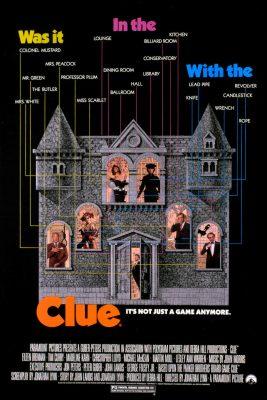 Clue poster original