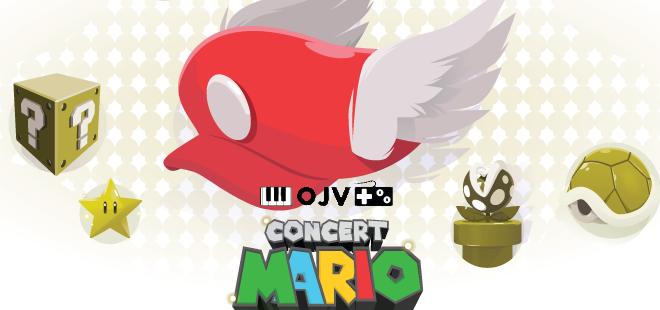 Mario en concert à Montréal avec l'Orchestre de Jeux Vidéo!