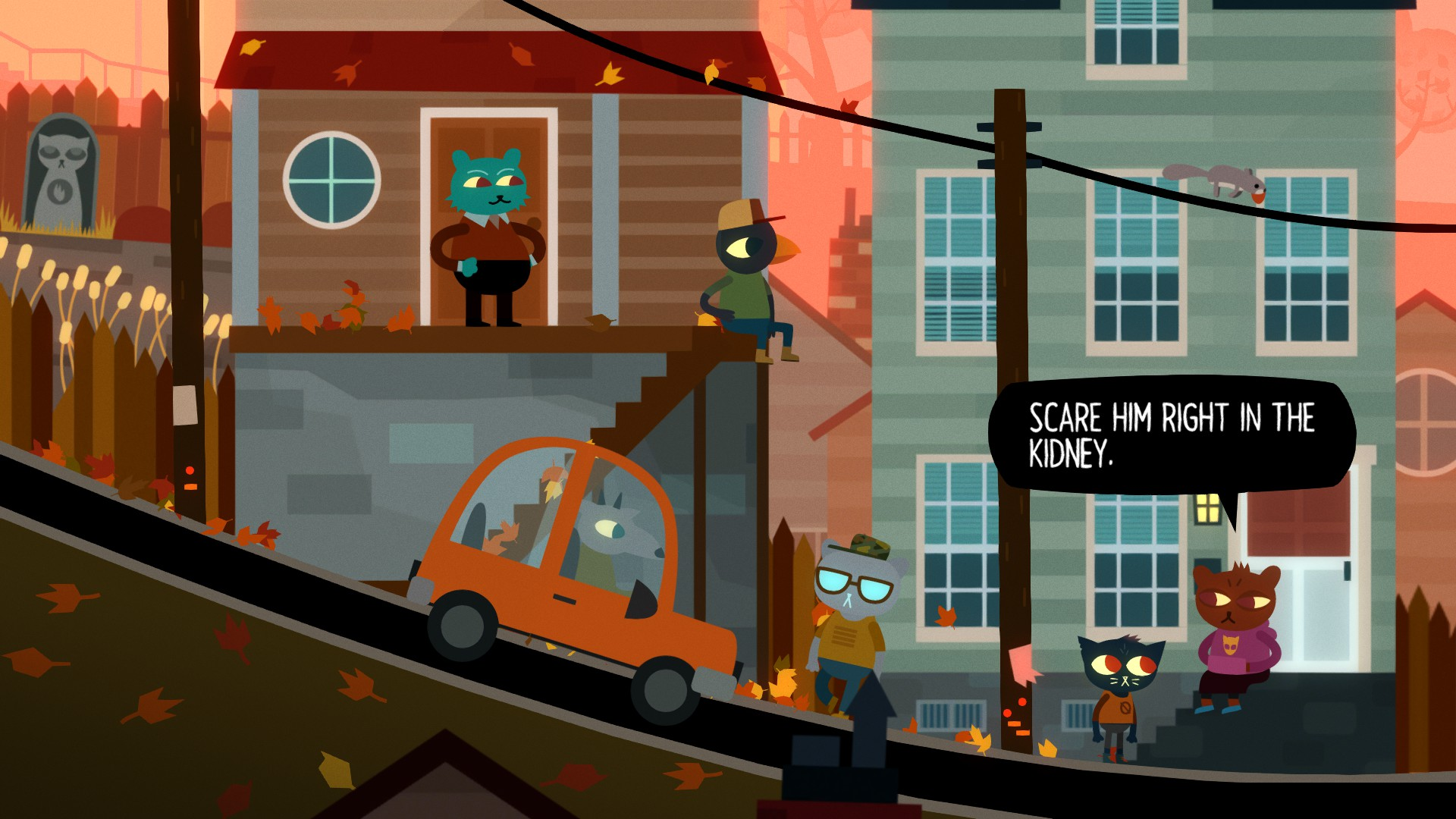 Selmers, notre voisine ours poète. | Night in the Woods