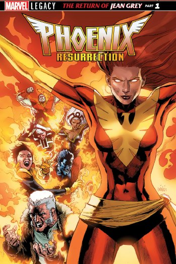 Phoenix Resurrection Couverture