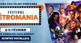 [Concours] Le Festival Rétromania est de retour du 2 au 8 février!