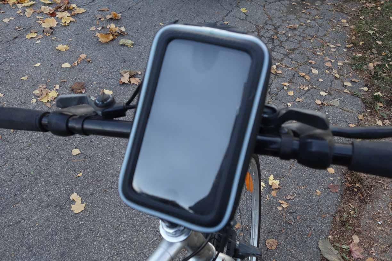 Le support de vélo pour téléphone cellulaire SMWPCS532 de Arkon
