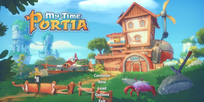 My Time at Portia – Un mélange de Stardew Valley et Terraria