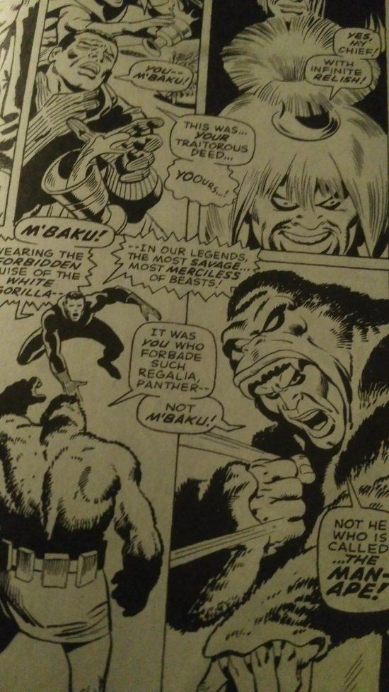 Black Panther M'Baku Man-Ape