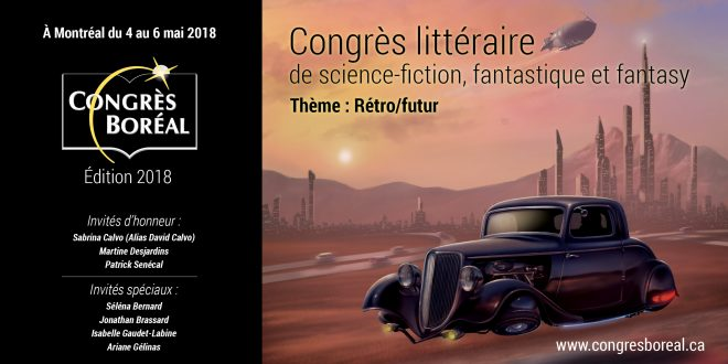 35e édition du Congrès Boréal: la lecture geek en vedette!