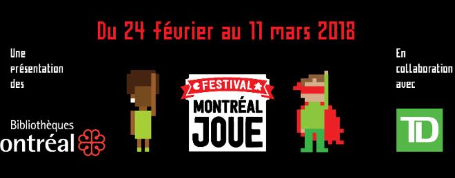 Festival Montréal joue 2018