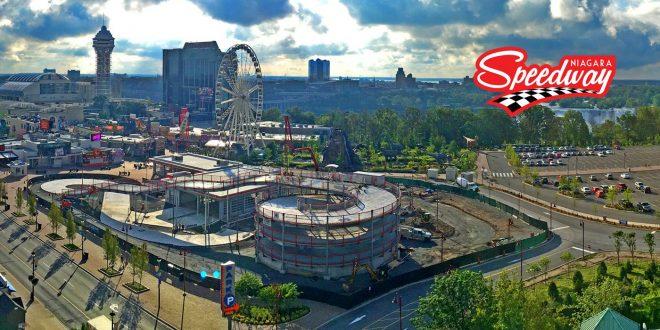 Premier essai routier pour la piste de Mario Kart de Niagara Fall!