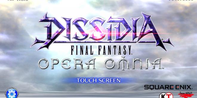 Dissidia Final Fantasy Opera Omnia, le rêve devenu réalité?