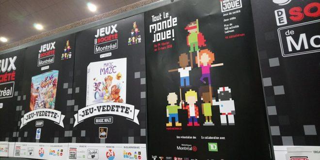 Jeux de Société de Montréal, un incontournable du festival Montréal joue