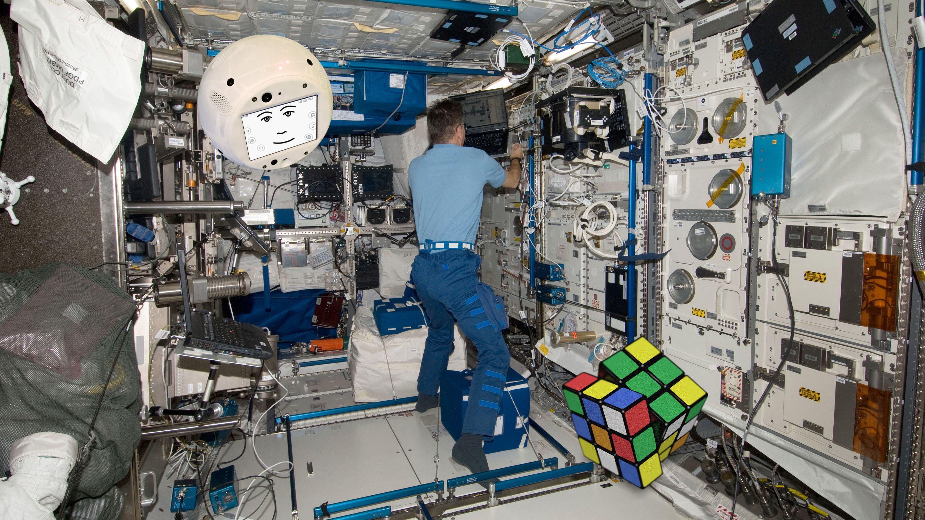CIMON cube Rubik