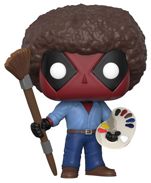 Deadpool en Bob Ross - Funko Pop