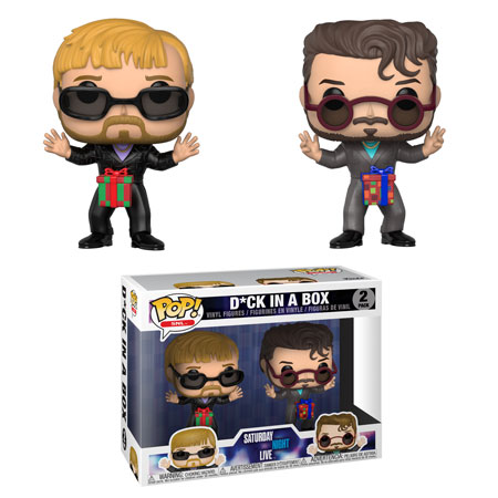 "Saturday Night Live ""D*ck in a box"" - Funko Pop"