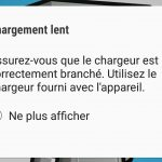 Samsung Galaxy Note8 - Chargement lent