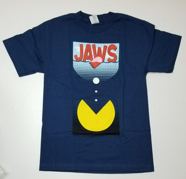 T-shirt Jaws X Pac-Man