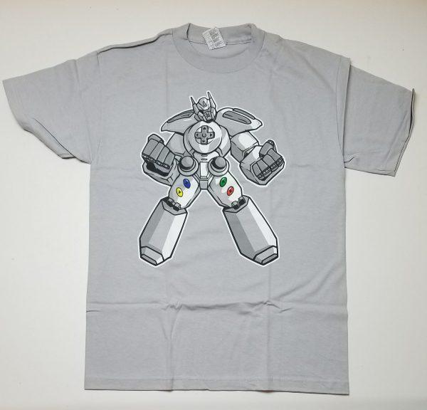 T-shirt de Transformers en manette Xbox