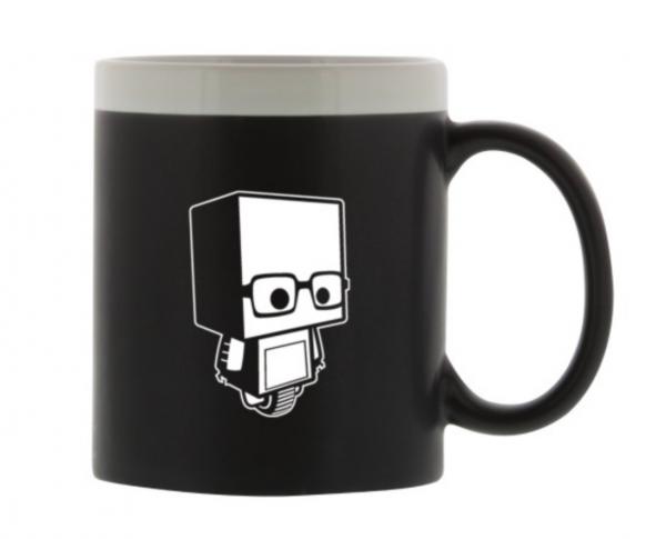 Tasse du robot Geekbecois