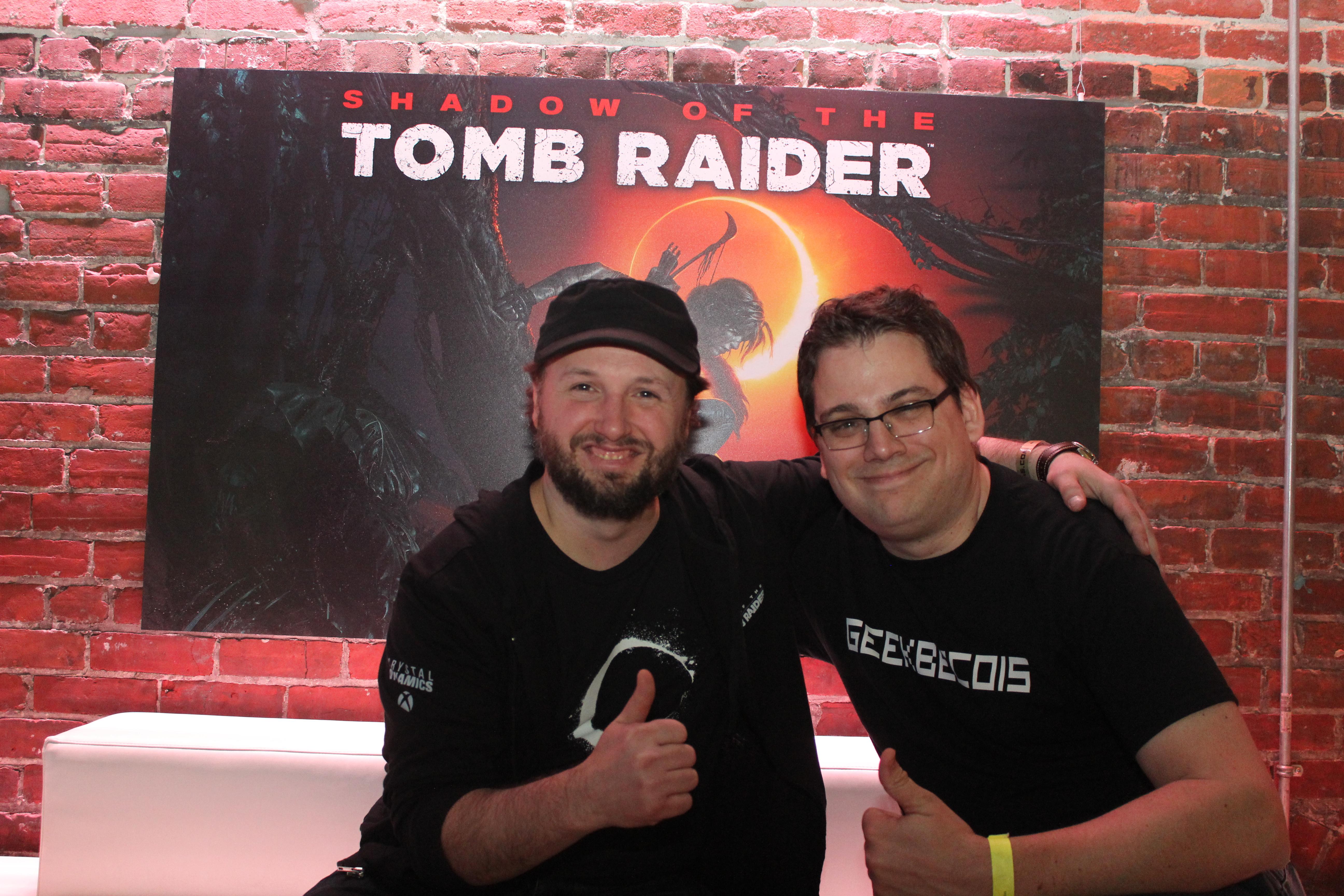 Daniel Chayer-Bisson, directeur artistique pour Shadow of the Tomb Raider