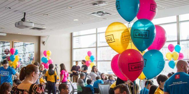 Nintendo célèbre la sortie de Nintendo Labo au Centre des sciences de Montréal