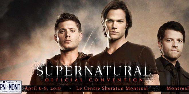 Les acteurs de Supernatural viennent à Montréal