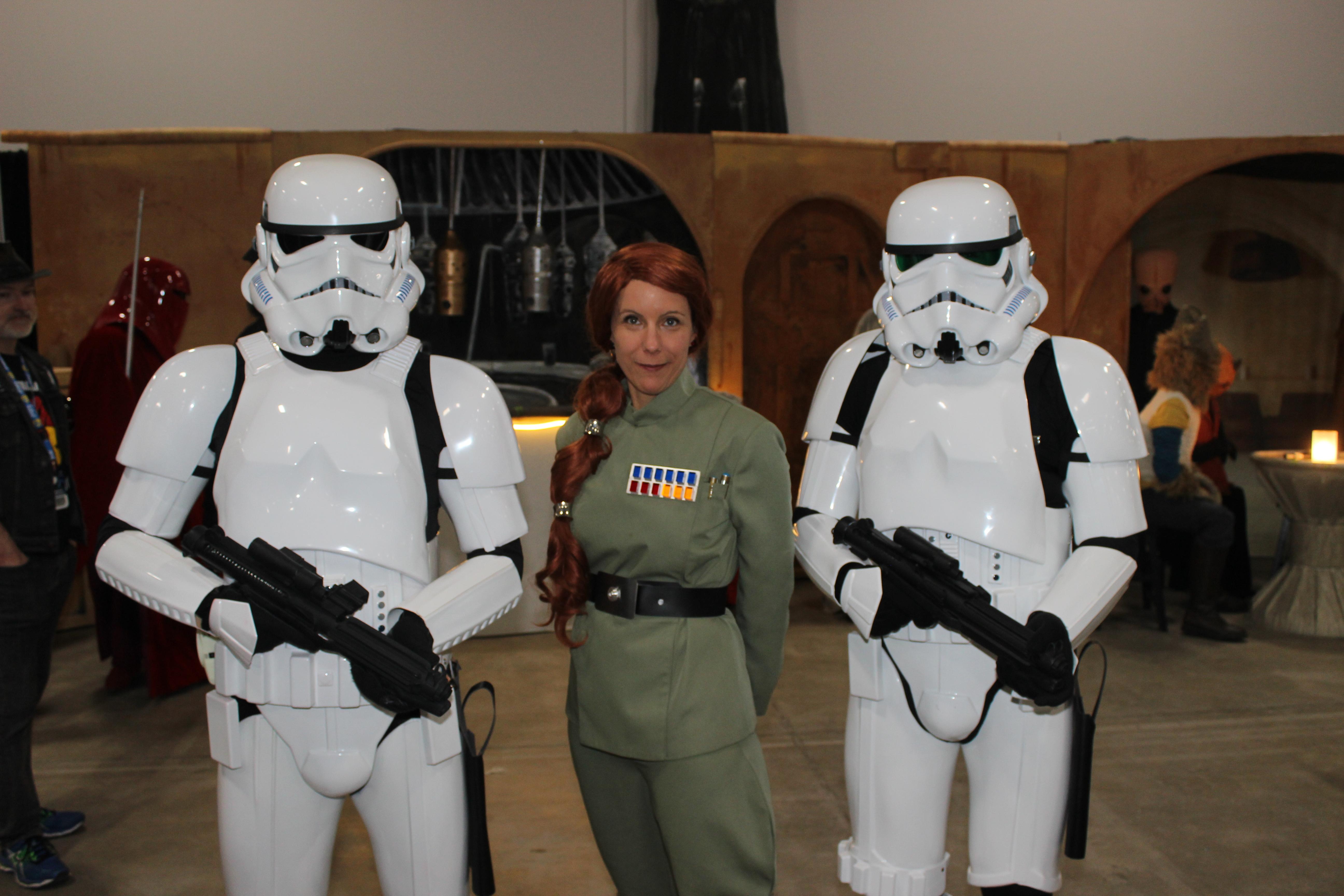 Les amateurs de Star Wars pouvaient se plonger dans leur univers préféré le temps d'une photo