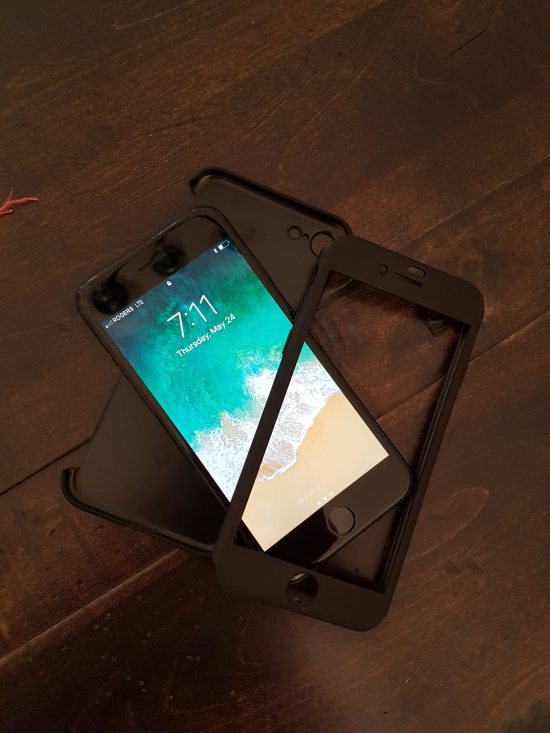 Protéger le devant et l'arrière de votre iPhone 7 avec la coque de protection Olixar