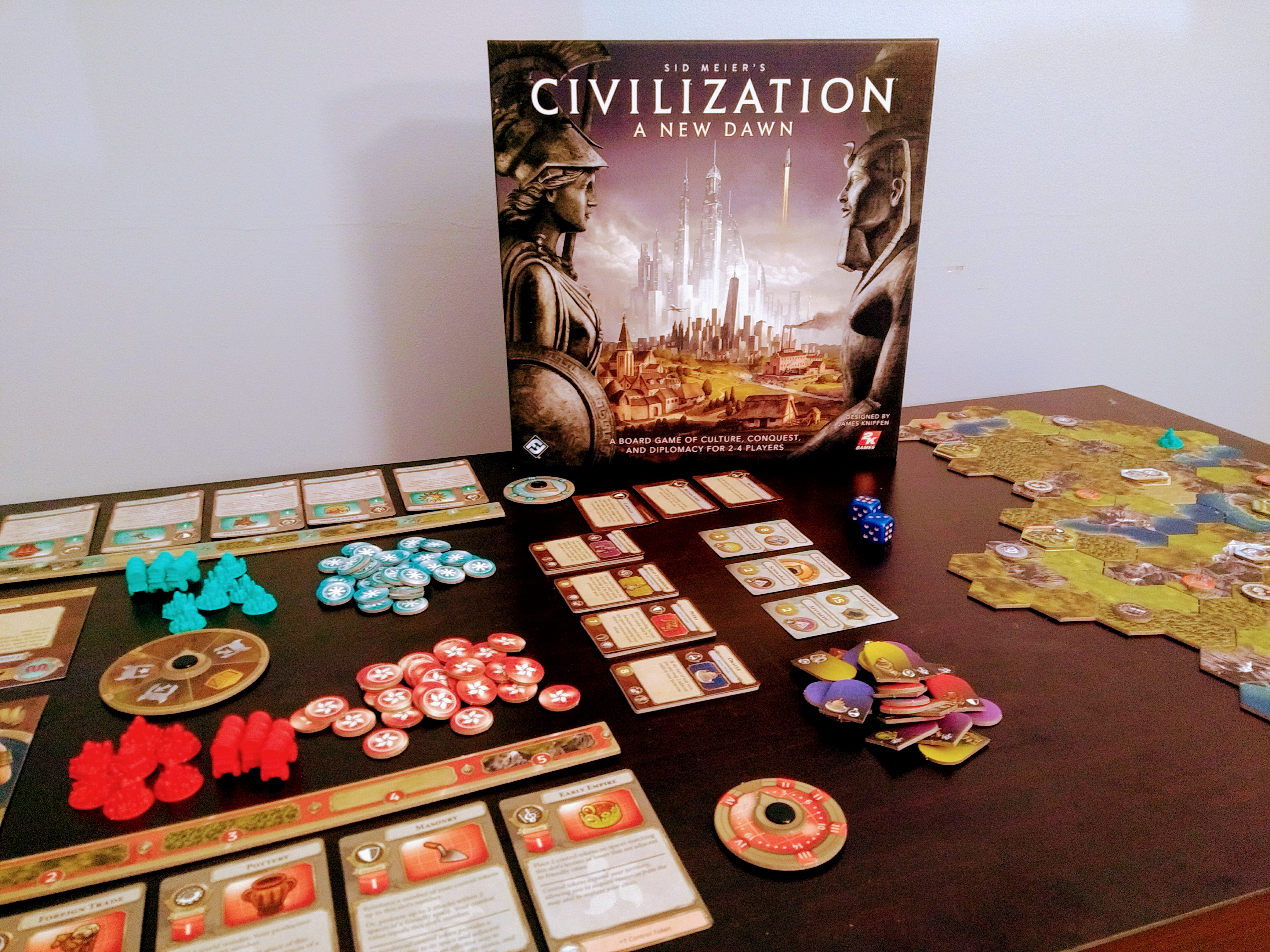 Couverture Sid Meier's Civilization : A New Dawn