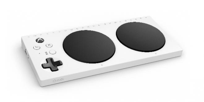 La manette Xbox adaptée