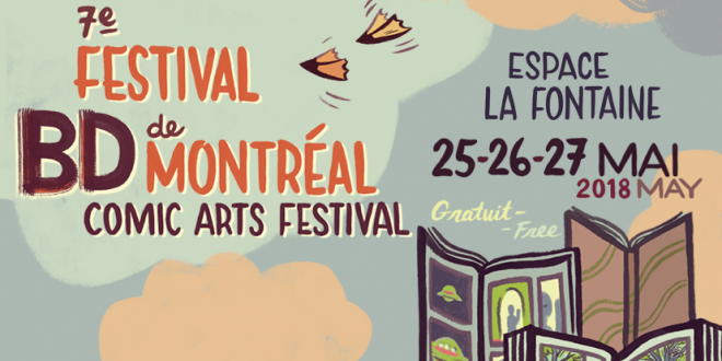 Le Festival BD de Montréal revient pour une 7e édition au Parc La Fontaine