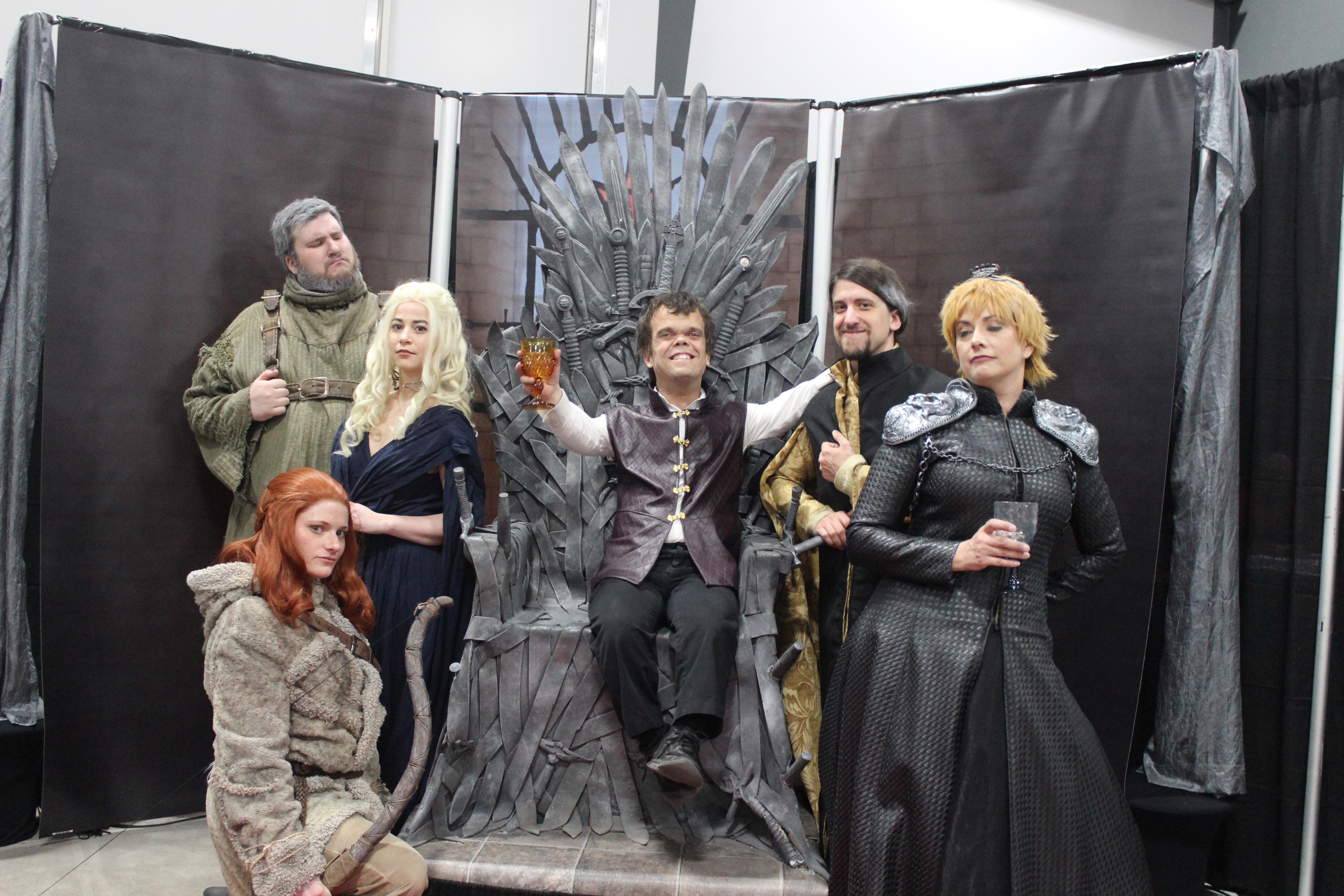 La qualité des costumes produits par les membres de Game of Thrones Cosplay Montréal était très impressionnante!