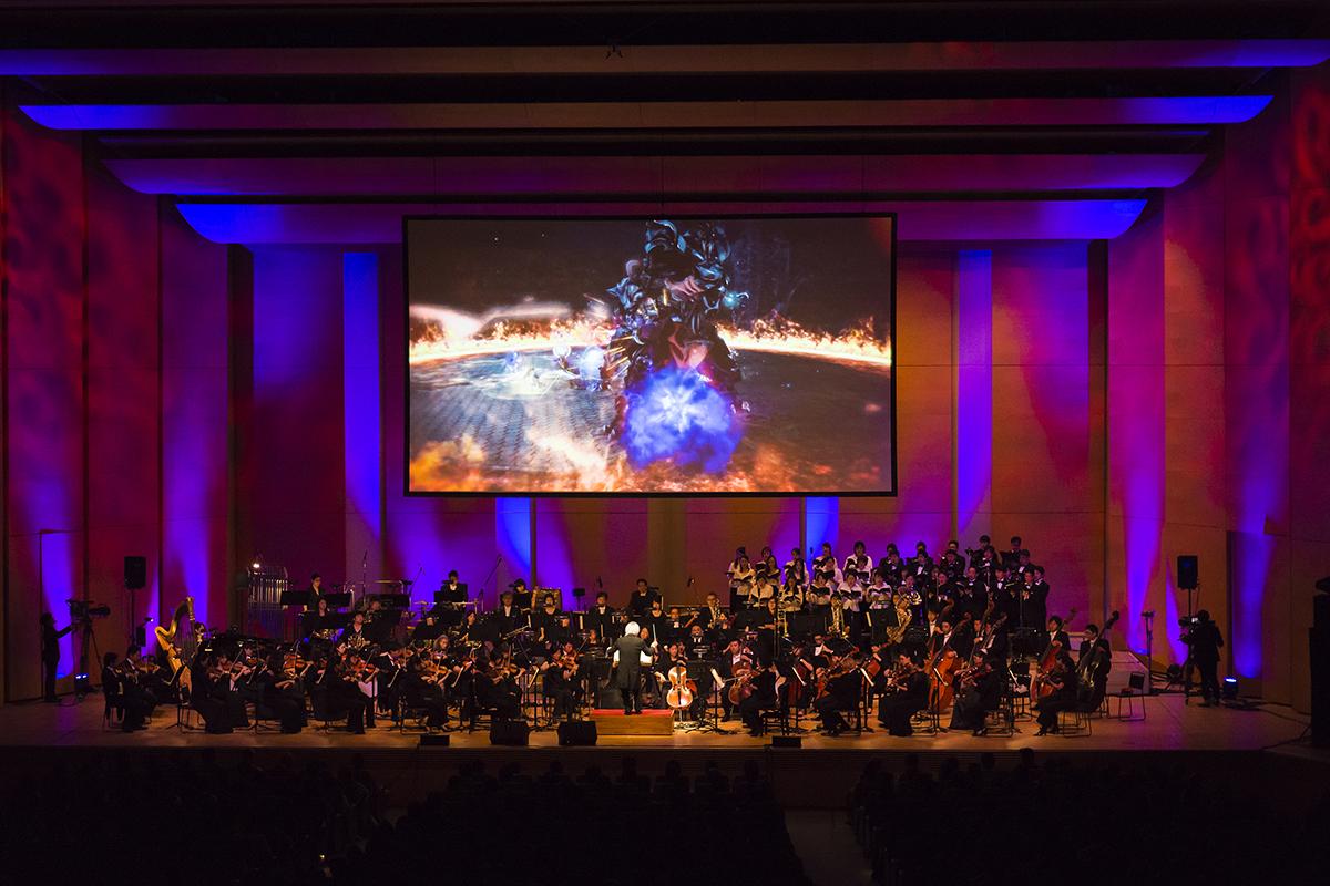 Final Fantasy XIV orchestre