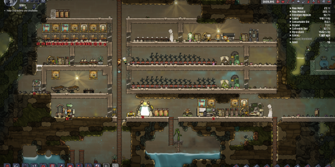 Exemple de base dans Oxygen not Included