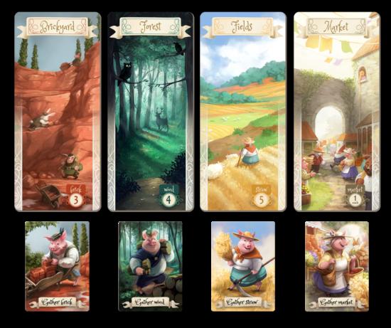 The Grimm Forest - plateaux de jeu