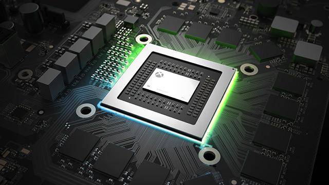 La Xbox One X doit sa puissance en grande partie à son processeur central 30% plus rapide que dans les versions précédentes