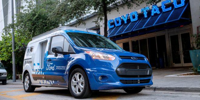 Transit Connect autonome Ford