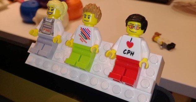 Une mini manufacture de figurines LEGO personnalisées à Copenhagen