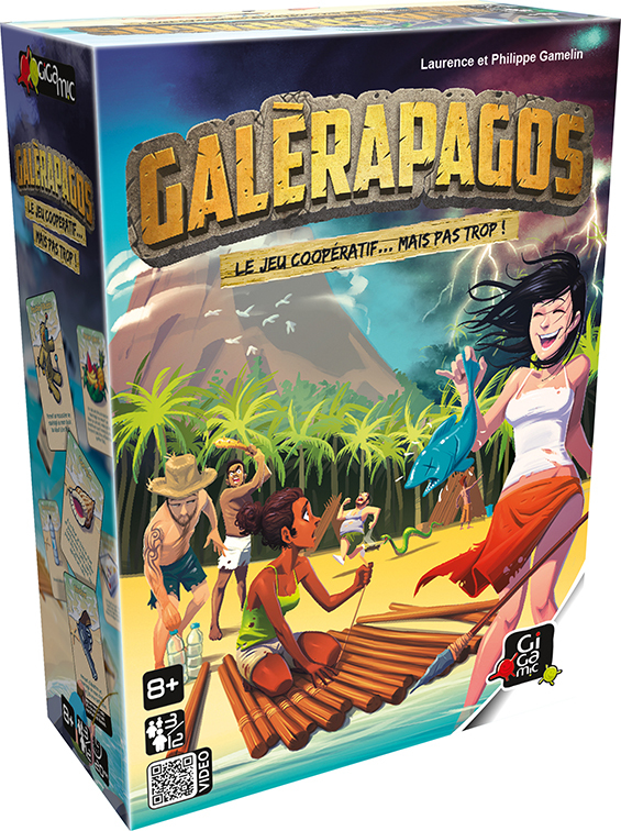 Jeu de société Galérapagos