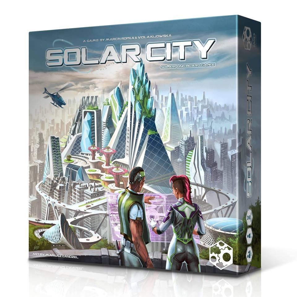 Jeu de société Solar City