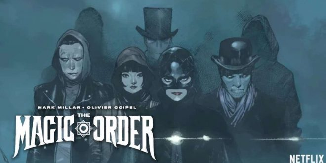 Netflix se lance dans les comics avec The Magic Order