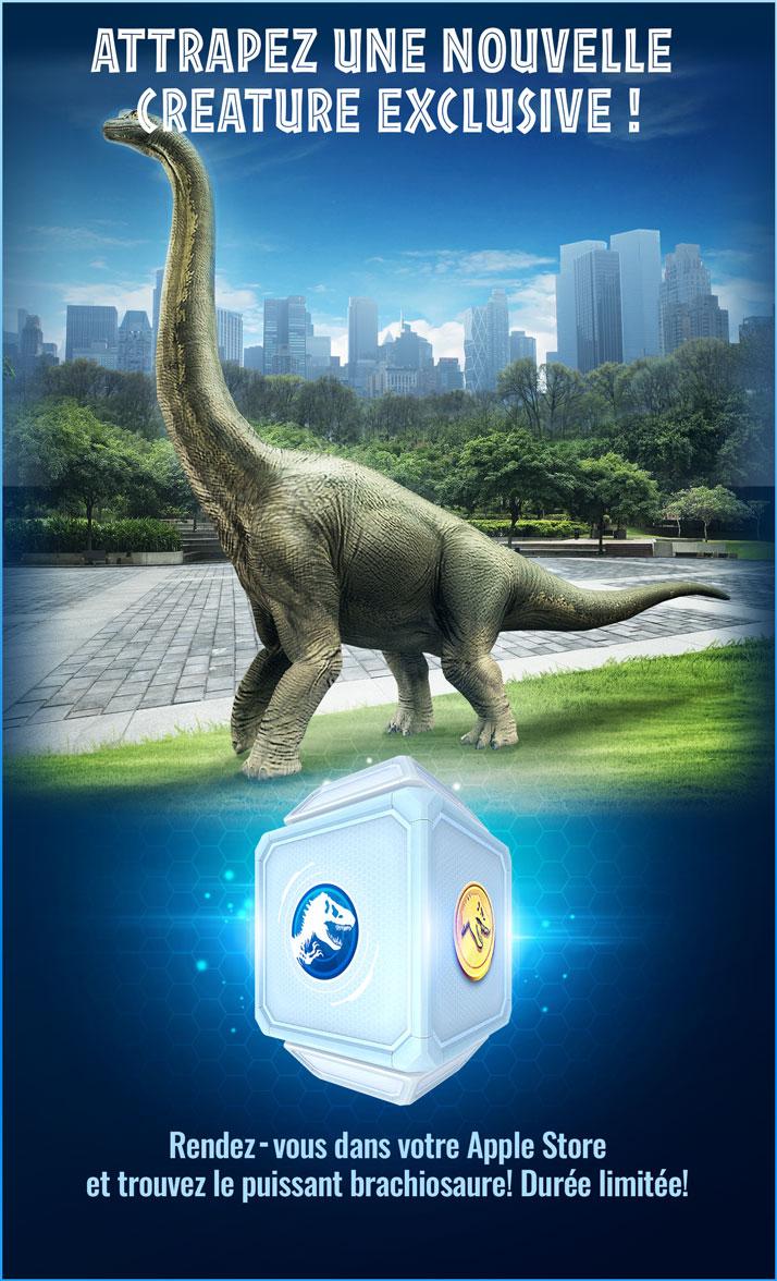 Jurassic World Alive : Ludia et Apple s'associent pour un événement canadien exclusif