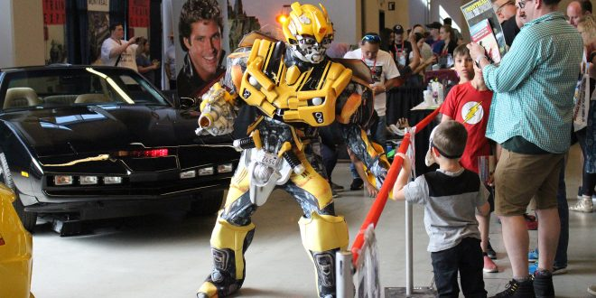 L'équipe de Geekbecois parmi les 60 000 visiteurs du Comiccon de Montréal 2018