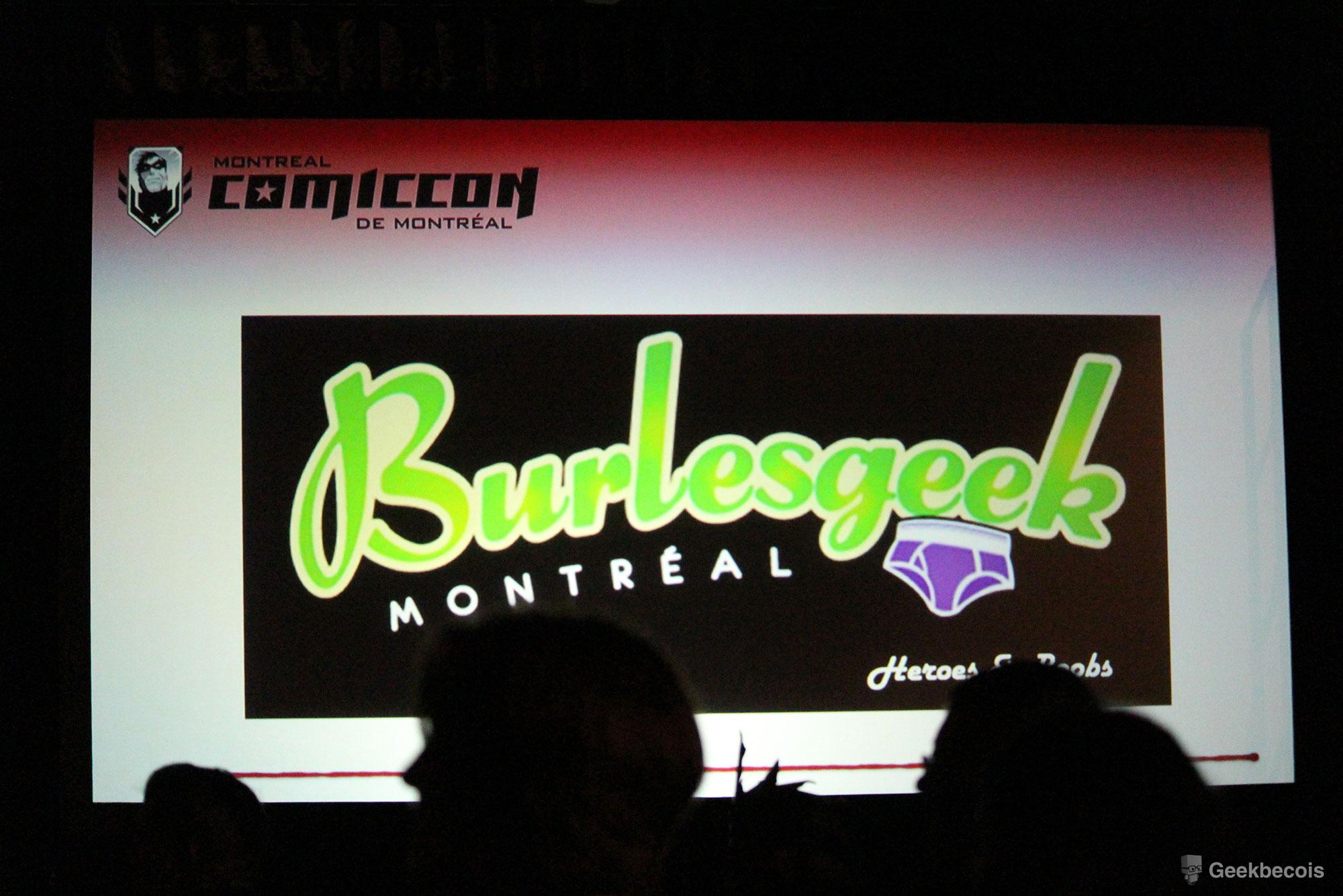 Comiccon de Montréal 2018 - Geekbecois - Burlesgeek